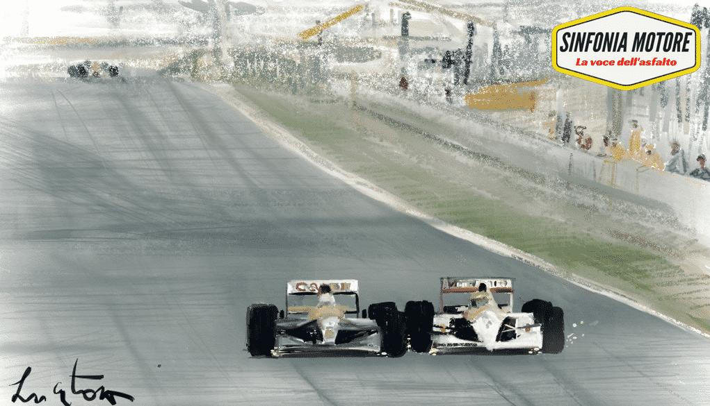 Mansell Senna '91