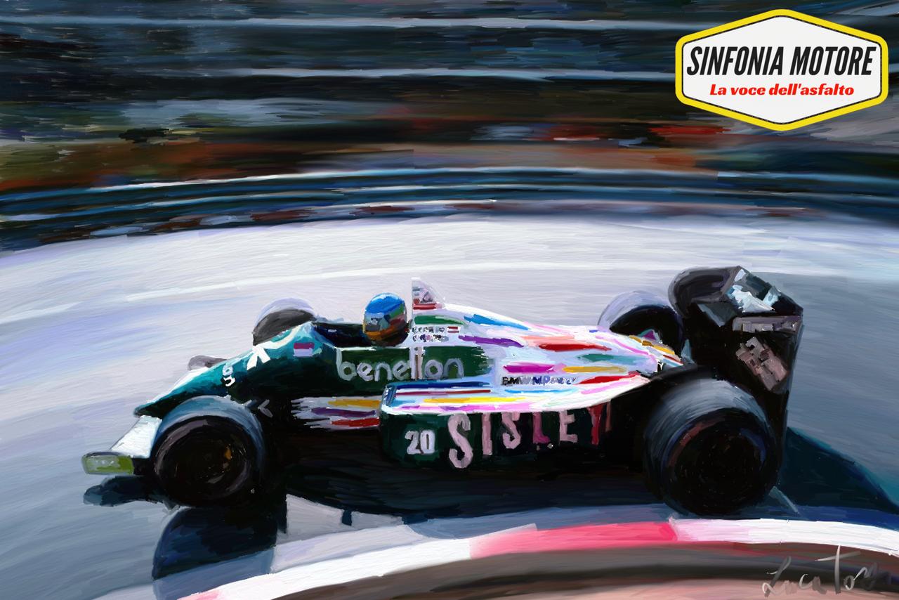 Berger Benetton B186 Monaco