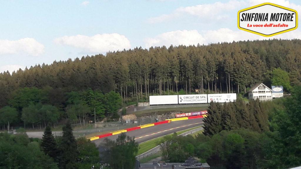 Il bosco delle Ardenne avvolge il circuito di Spa-Francorchamps